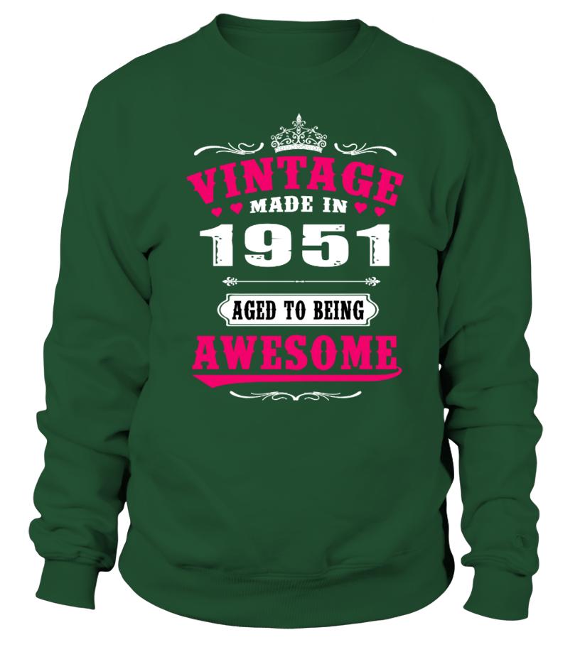 1951 Vintage Aged to being Awesome    brother shirts, big brother gifts, brother gift ideas, brother sister gifts #brother #giftforbrother #family #hoodie #ideas #image #photo #shirt #tshirt #sweatshirt #tee #gift #perfectgift #birthday #Christmas