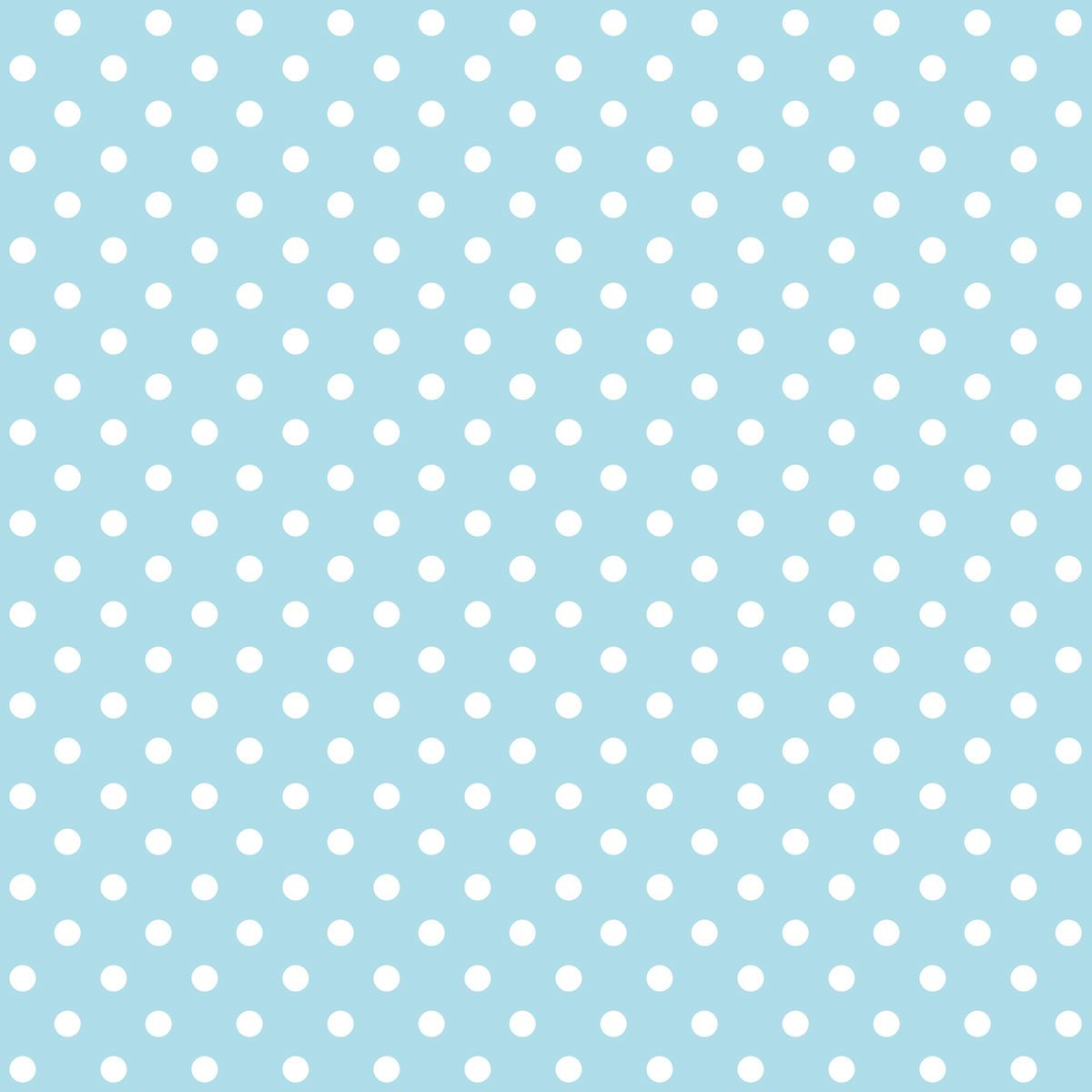 Free Digital Polka Dot Scrapbooking Paper Baby Blue