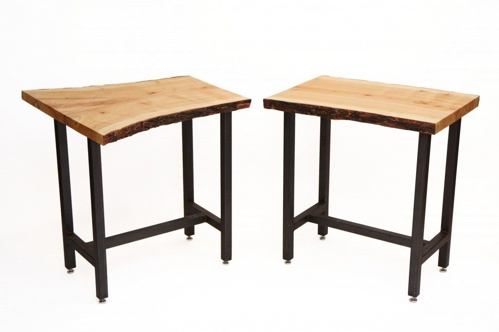 Bar slab table canadian salvaged timber corp slab