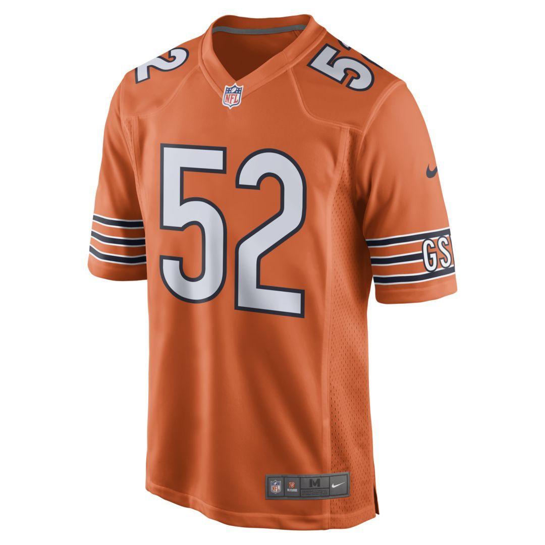 NFL Chicago Bears Game Jersey (Khalil Mack) Men's Football Jersey  hot sale