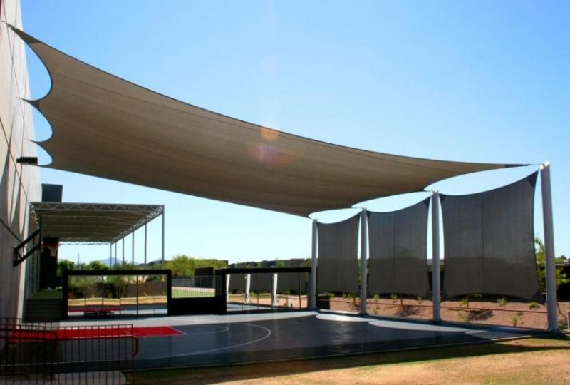 Attractive Phoenix Tent And Awning Company » Shade Sails » Commercial Photos