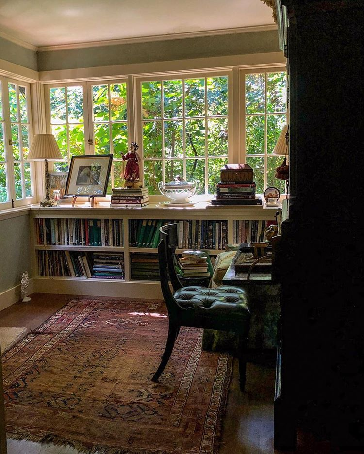 Sometimes I Feel A Little Like Briar Rose With All The Green Leaves That Are Growing Up Around My House It Is An Odd Thing Sunroom Decorating Home Cozy House