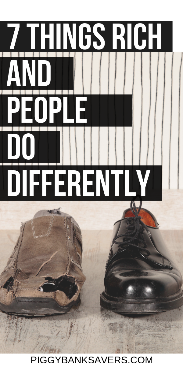 7 Things Rich and Poor People Do Differently | Rich vs ...