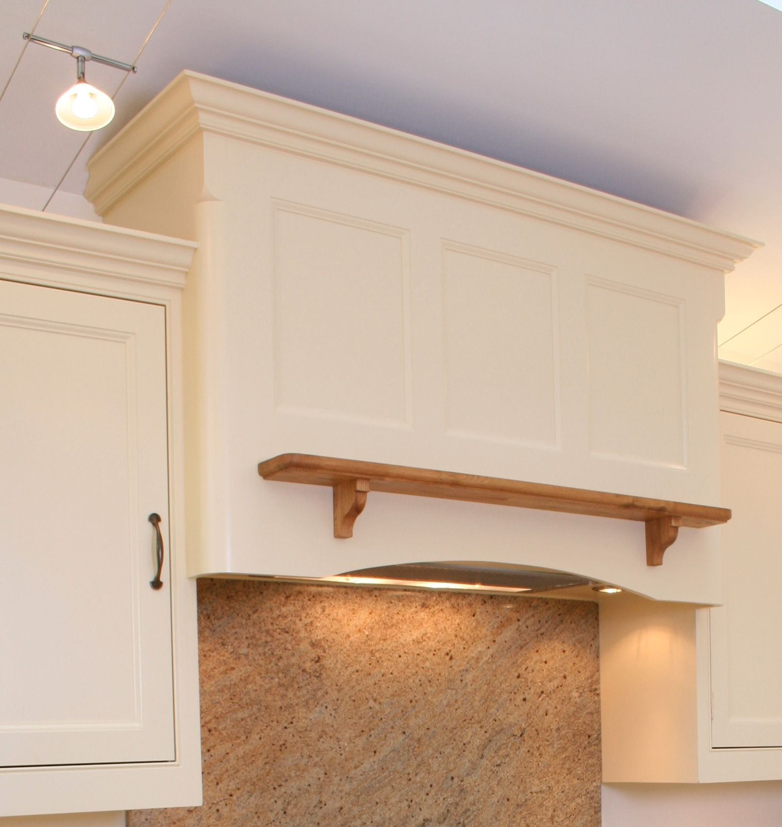 Kitchen canopy manufactured from MDF. | Stove hood | Pinterest ...