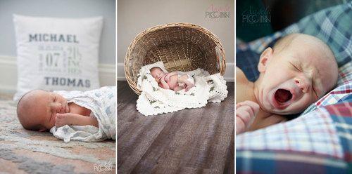 Newborn Baby Photos - Wilmington NC - Photography by Angela Piccinin - Wedding and Family Portrait Photographer