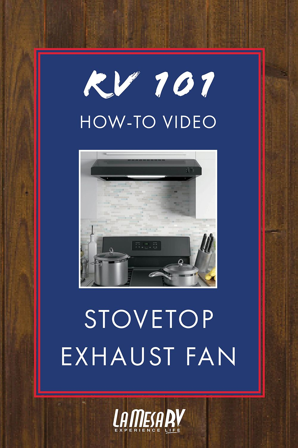 In Order For Your Stovetop Exhaust Fan To Work Properly Make Sure Your 12v System Is Engaged The System Comes With An Exhaus Exhaust Fan Exhausted Stove Top