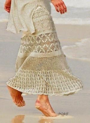Inspirações de Croche com Any Lucy: Saia by ann