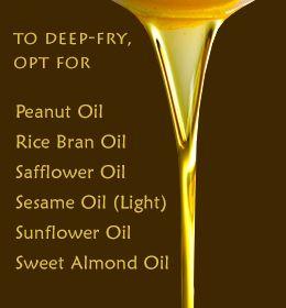 Best deep-frying oil