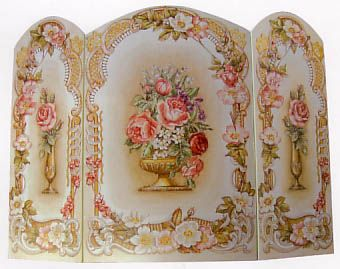 Victorian Roses Fireplace Screen