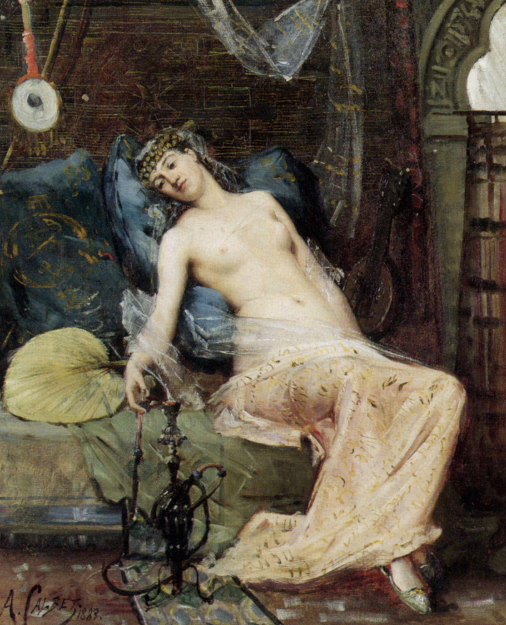 Erotic harem women