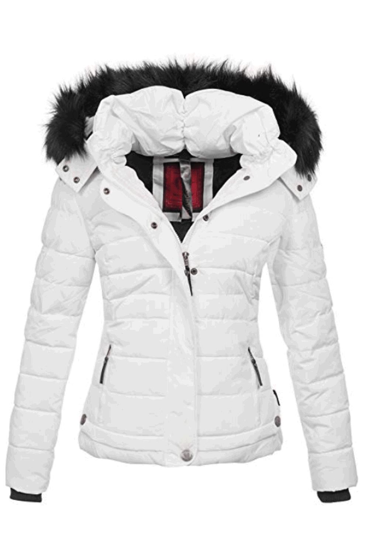 Damen Frauen Winterjacke Wintermantel Steppmantel warme