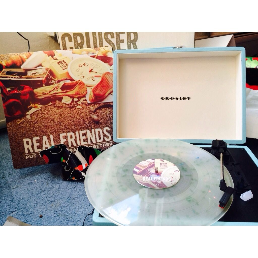 Real Friends Put Yourself Back Together Vinyl Player Music Items Real Friends