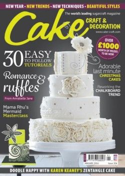 Download Cake Craft Decoration January 2016 Online Free Pdf Epub Mobi