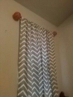 basketball curtain rod kacies room curtain rods curtains bathroom rh pinterest com
