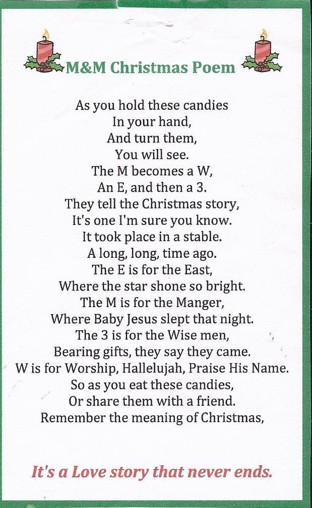 Story Of Christmas.M M Christmas Story Holidays Christmas Poems Christmas