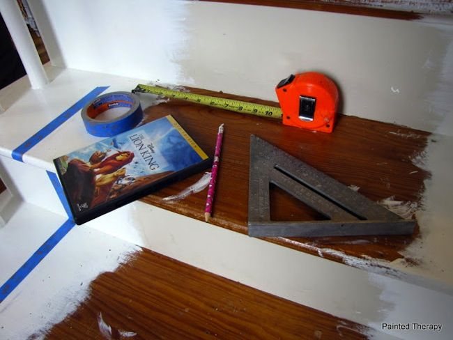 How To Paint Stairs