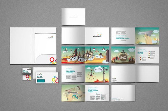 Mind Blowing Brochure Designs   Graphic Design   Inspiration     Mind Blowing Brochure Designs
