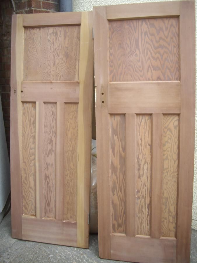 Reclaimed 1930s Doors Chester Paint Stripping Wooden Doors Interior Doors Interior Wood Doors Interior