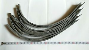 """Buffalo horn strips 55-80CM//23.6-31.6/""""for making horn bows Wholesale Amounts"""