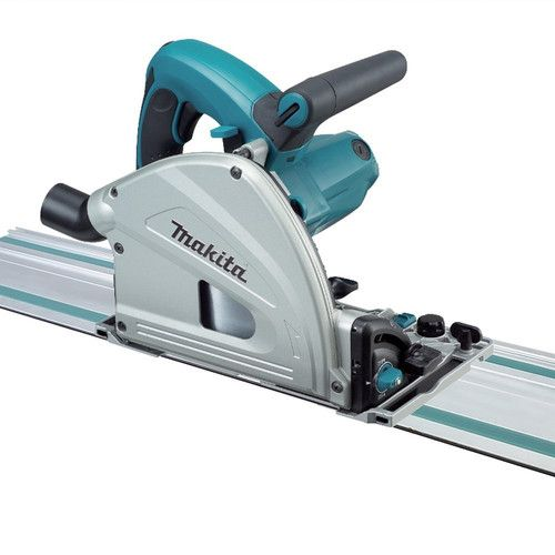 Makita Sp6000j1 6 1 2 In Plunge Circular Saw With 55 In Guide Rail Construccion