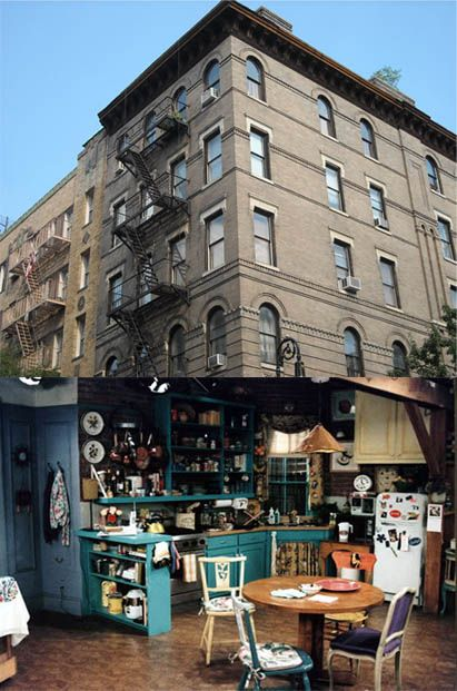 The Apartment From Friends Monica S Actual Location Corner Of Grove And Bedford Greenwich Village