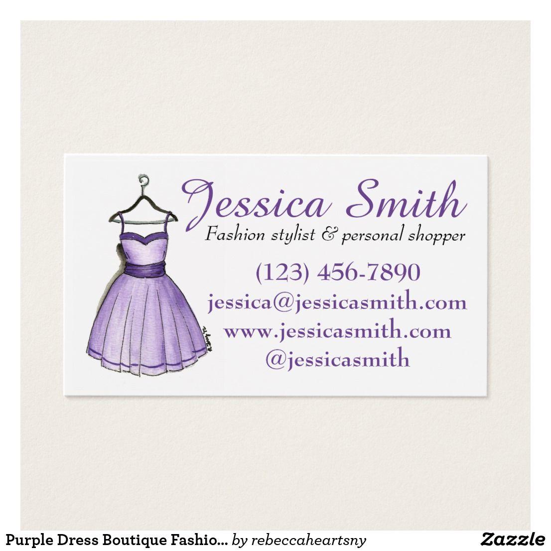 Purple Dress Boutique Fashion Shopper Stylist