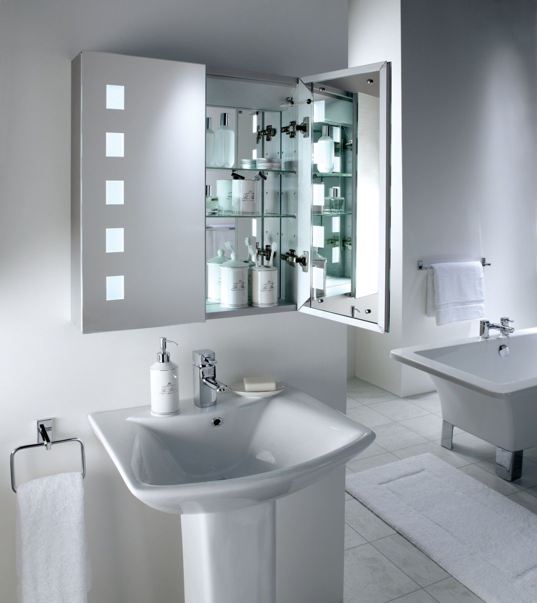 Designer Bathroom Cabinets Beauteous Contemporary Bathroom  Bathroom  Pinterest  Contemporary Design Ideas