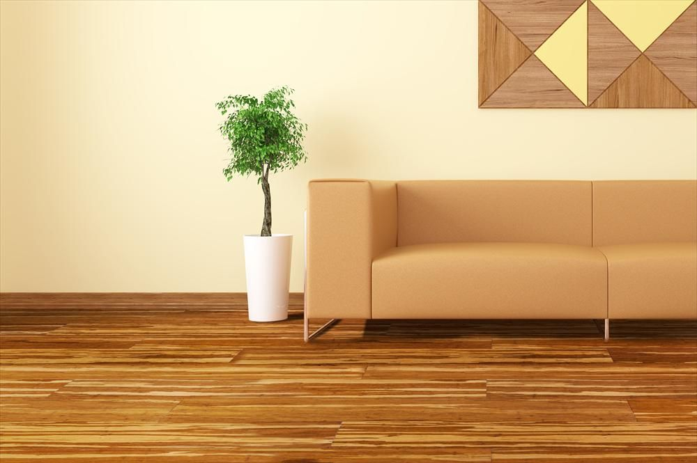 ClickLock Solid Strand Woven Bamboo Flooring Bamboo Floor - Porcelain click and lock floor tile