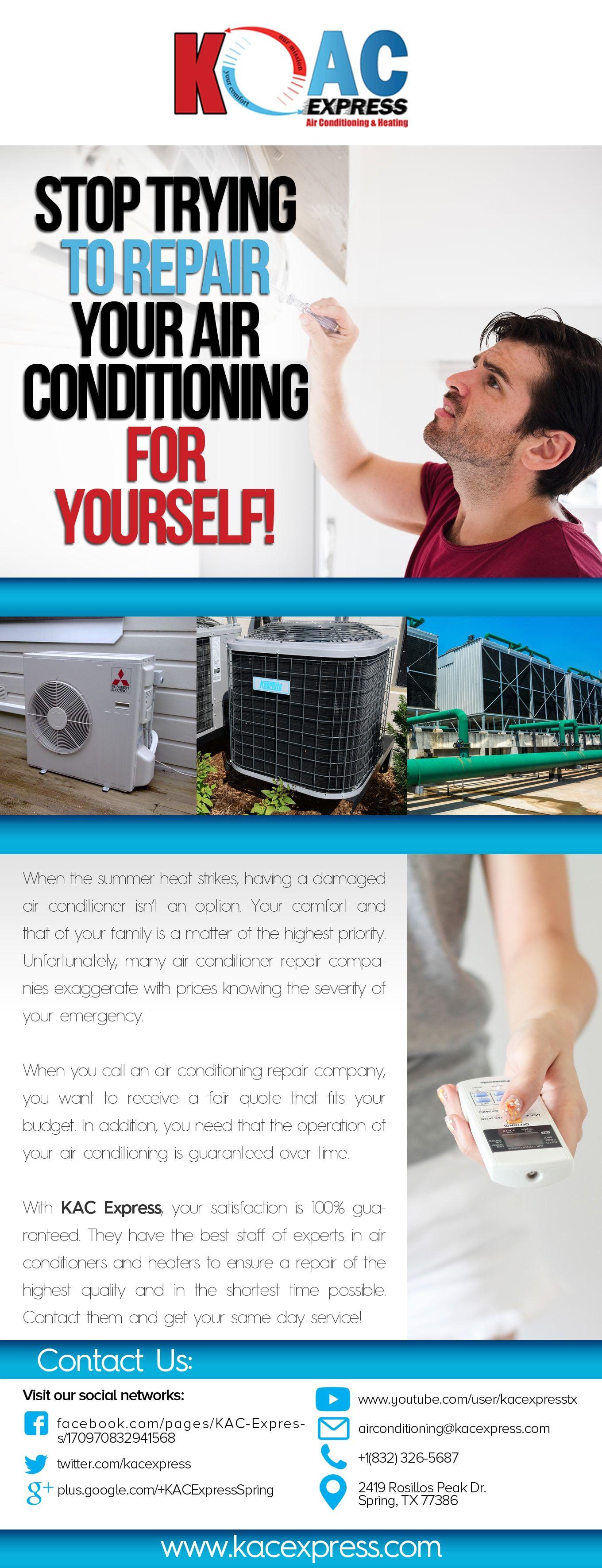 KAC Express Air Conditioning Service Spring Tx Air