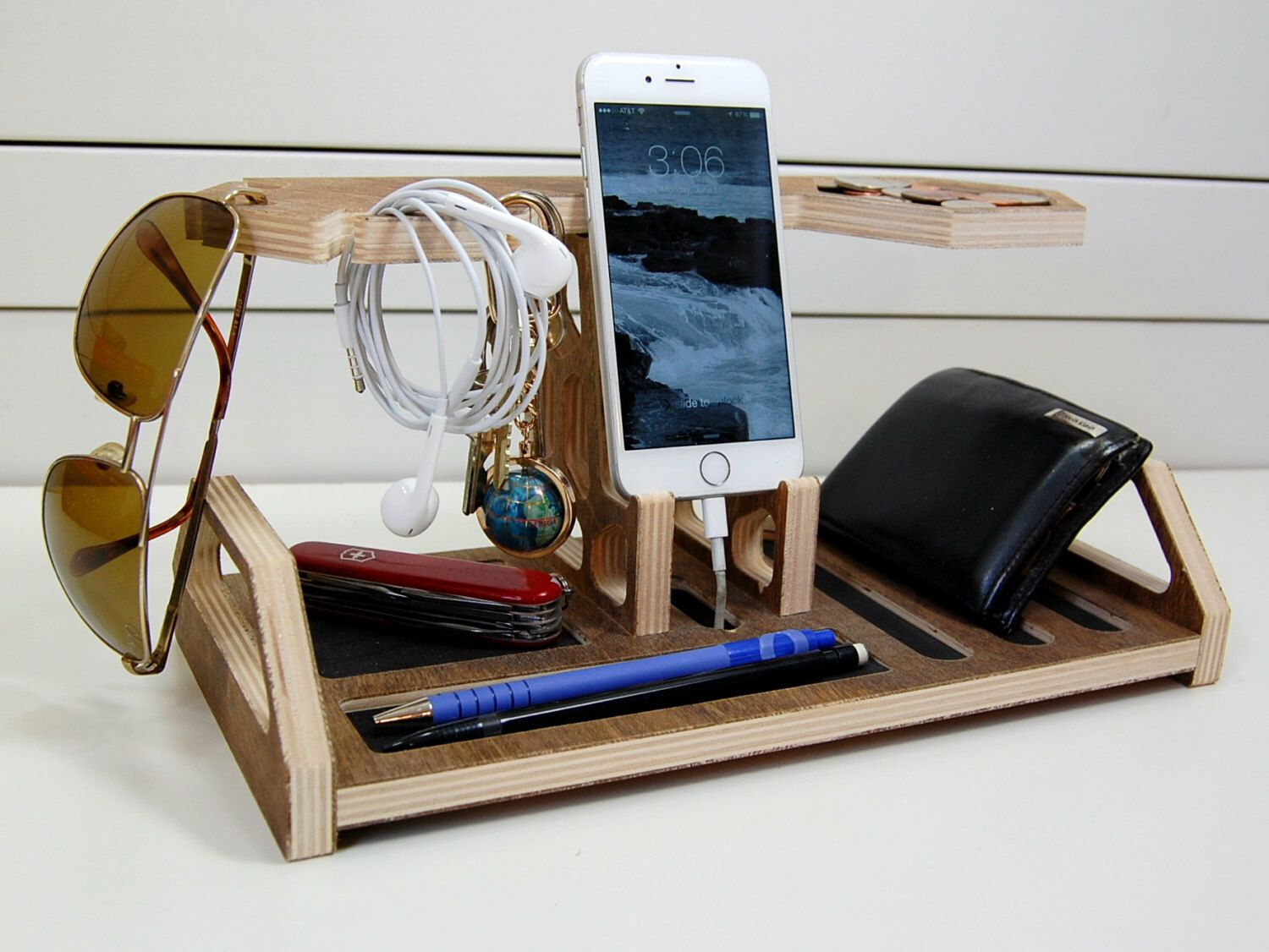 Honeycomb Charging Station Valet By Pineconehome On Etsy Https Www