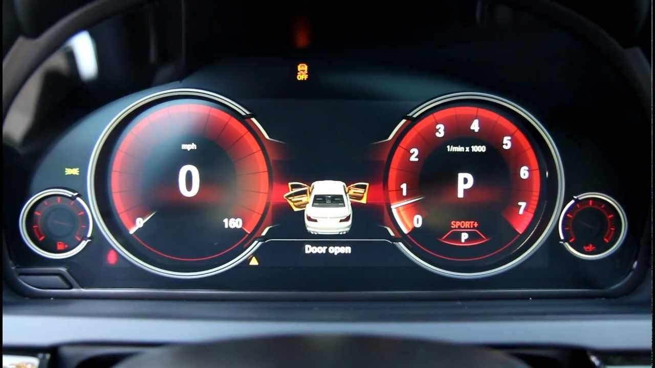 New Bmw Digital Lcd Instrument Gauges Display From 7 Series Lci