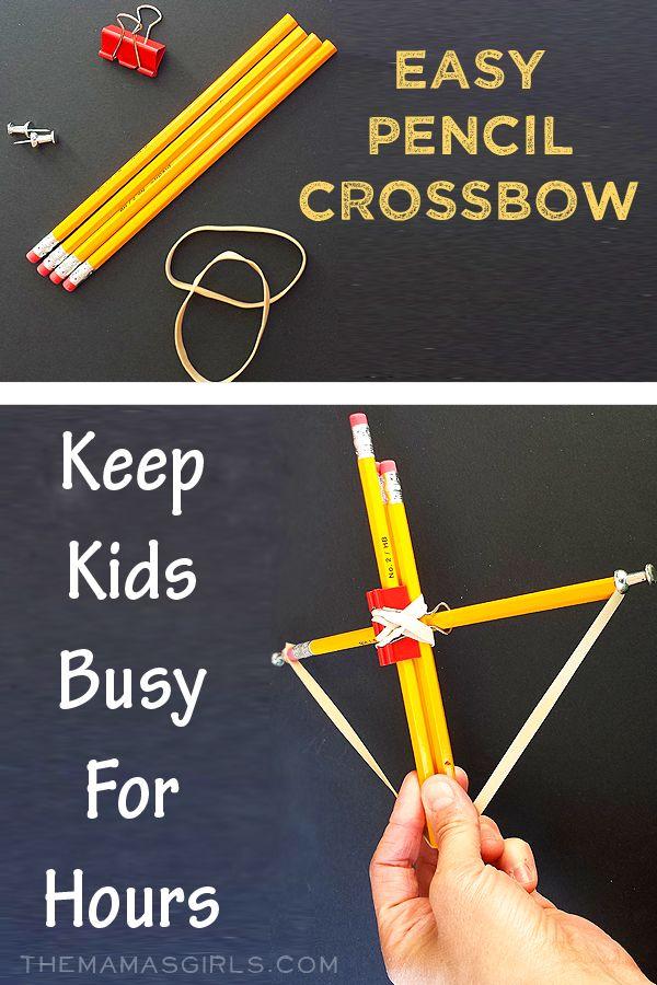 Pencil Crossbow On Pinterest