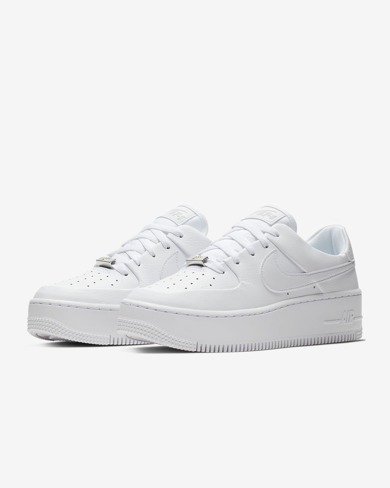 buy popular fda84 e7ef4 Chaussure Nike Air Force 1 Sage Low pour Femme