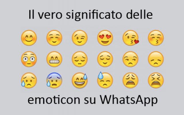 WhatsApp, il vero significato delle emoticon che utilizziamo #whatsapp #emoticon #significato