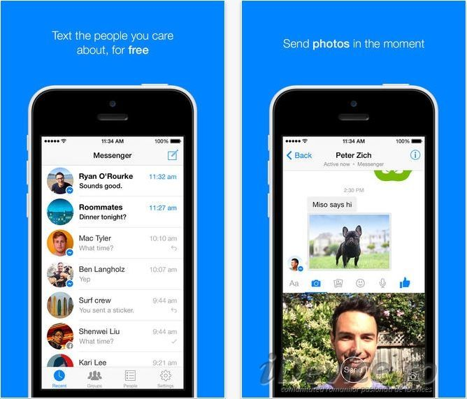 Facebook Messenger 8 update este disponibil in App Store
