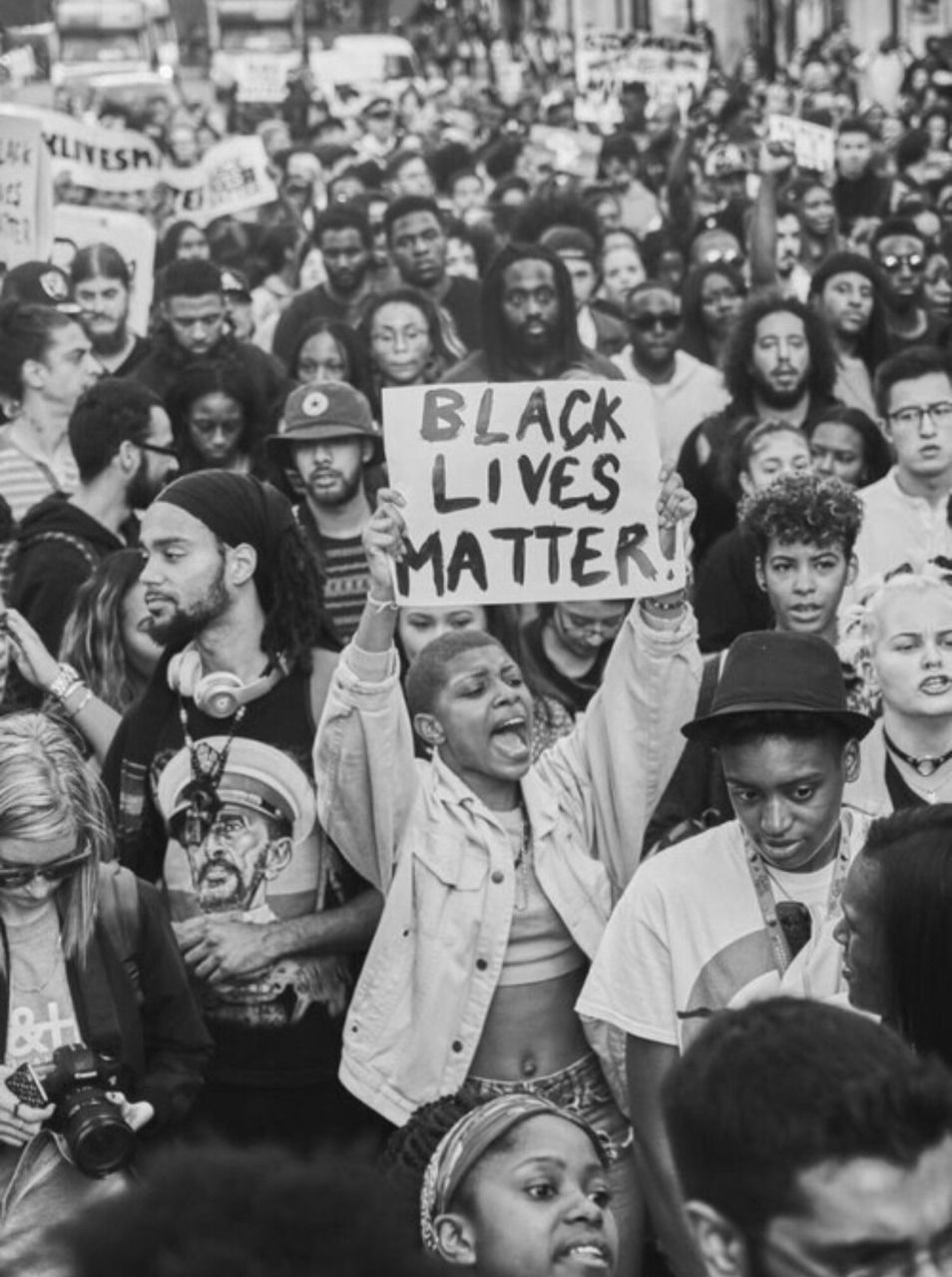 Black Lives Matter Discovered By 𝐛𝐫𝐢 On We Heart It Black Lives Matter Art Black And White Picture Wall Black And White Photo Wall
