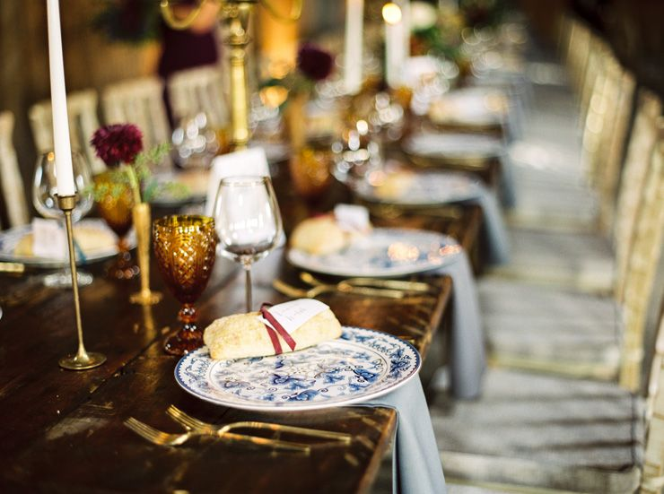 Elegant wedding table decoration | fabmood.com