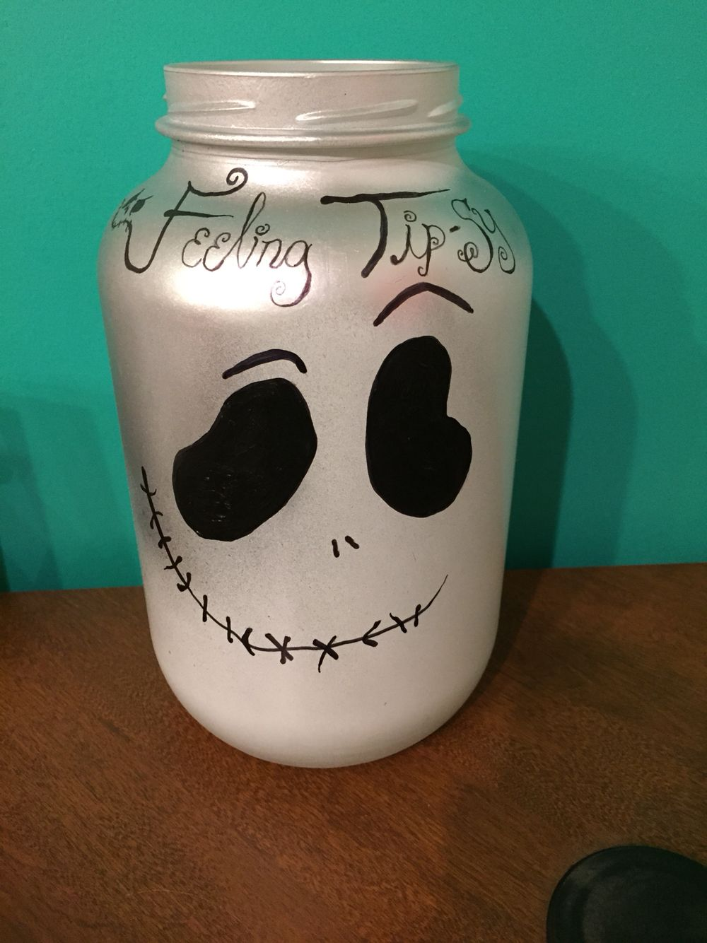 Halloween Wedding Tip Jar Jar Tip Jars Decorative Jars