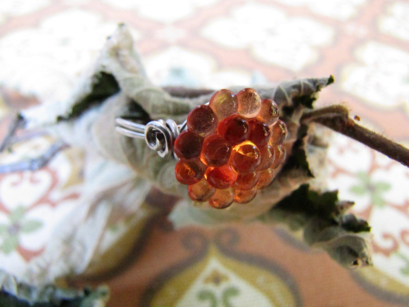Grandma's Button ring