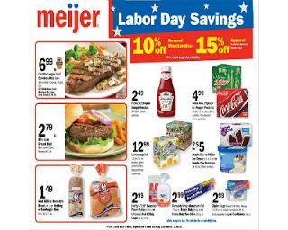 Meijer Labor Day Sale 9 4 9 7 Couponing Target Coupons Coupons