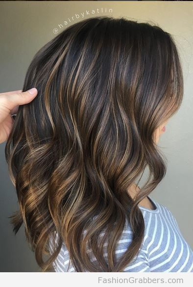 Perfectly Soft Blended Brunette To Dark Blonde With Balayage