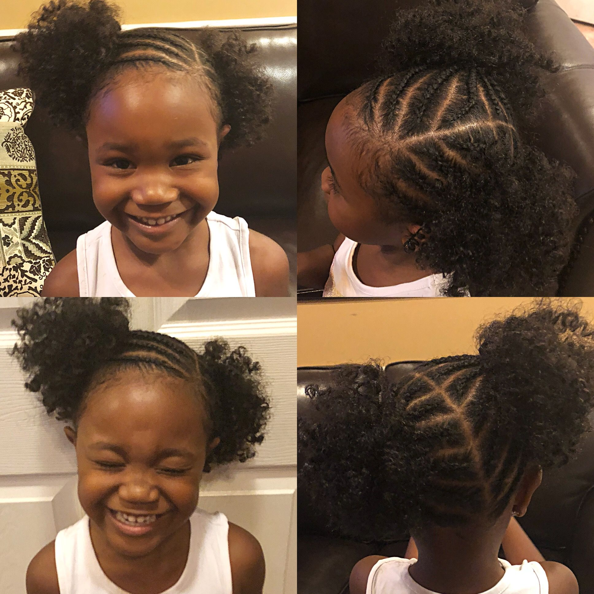 Crochet Hair Added To Ponytails Quick And Easy Braided Style For
