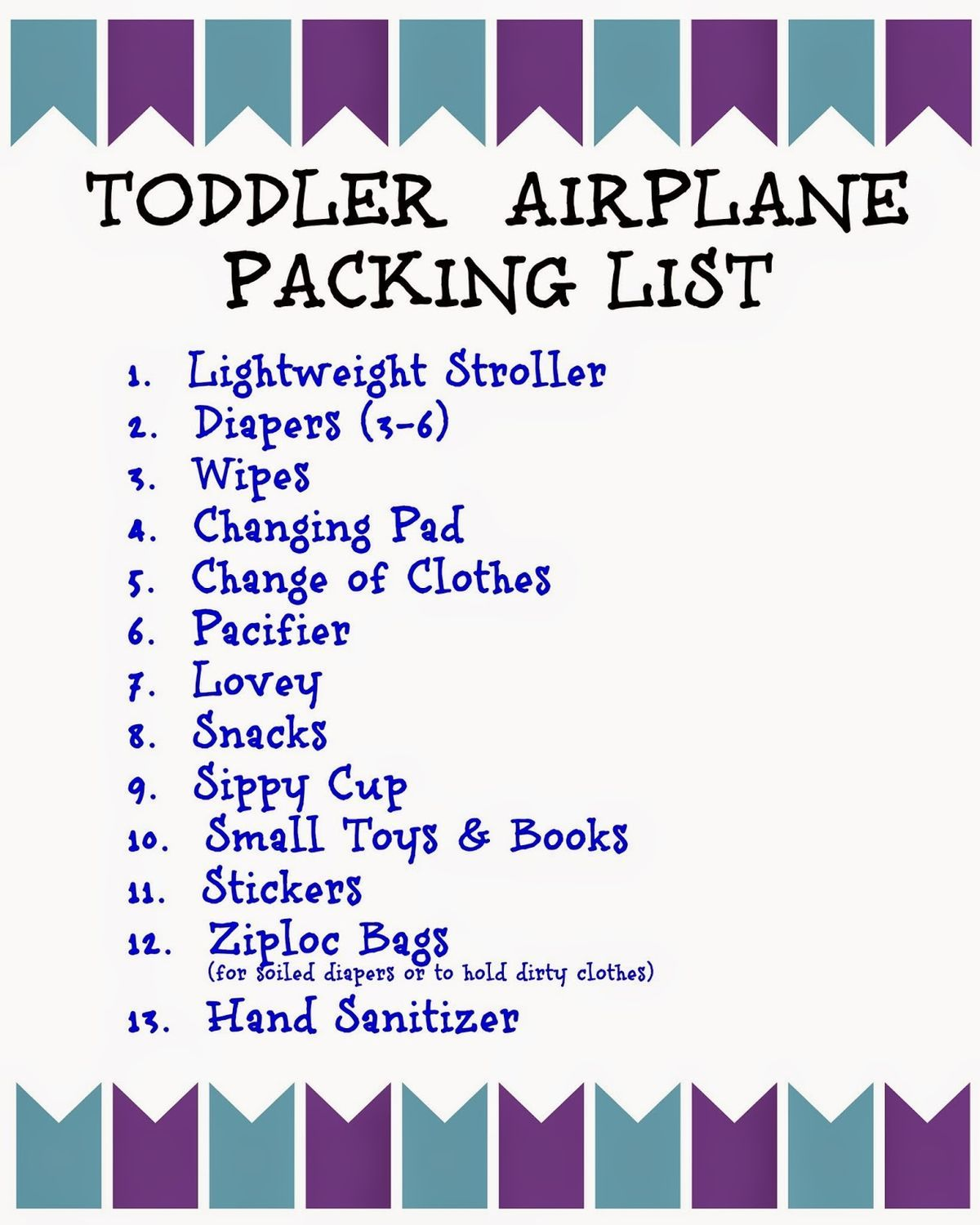 Flying With Children Tips And Printable Packing Lists For Kids Airplanes Vacation And