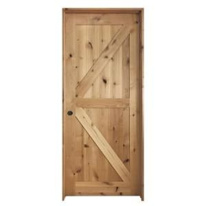 Steves And Sons 30 In X 80 In K Frame Unfinished Barn Door Style
