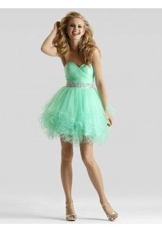 A-line Sweetheart Sleeveless Tulle Homecoming Dress With Beaded #FP197 - See more at: http://www.beckydress.com/prom-dresses/short-prom-dresses.html?p=2#sthash.7CAz1AYr.dpuf
