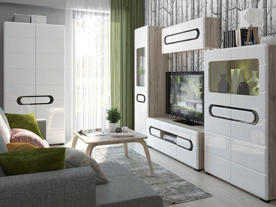 гостиная Byron байрон Brw польская мебель Brw Living Room