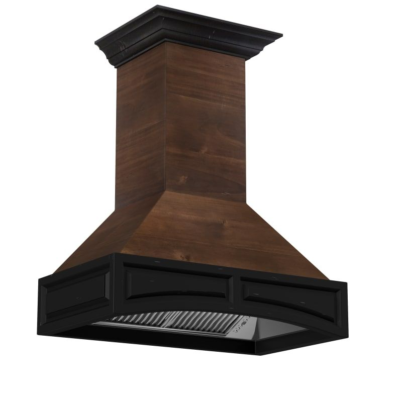 Zline Designer 1200 Cfm 36 Wide Wall Mounted Range Hood W Baffle Filters 321ar 36 In 2020 Wall Mount Range Hood Wooden Range Hood Wall Mount