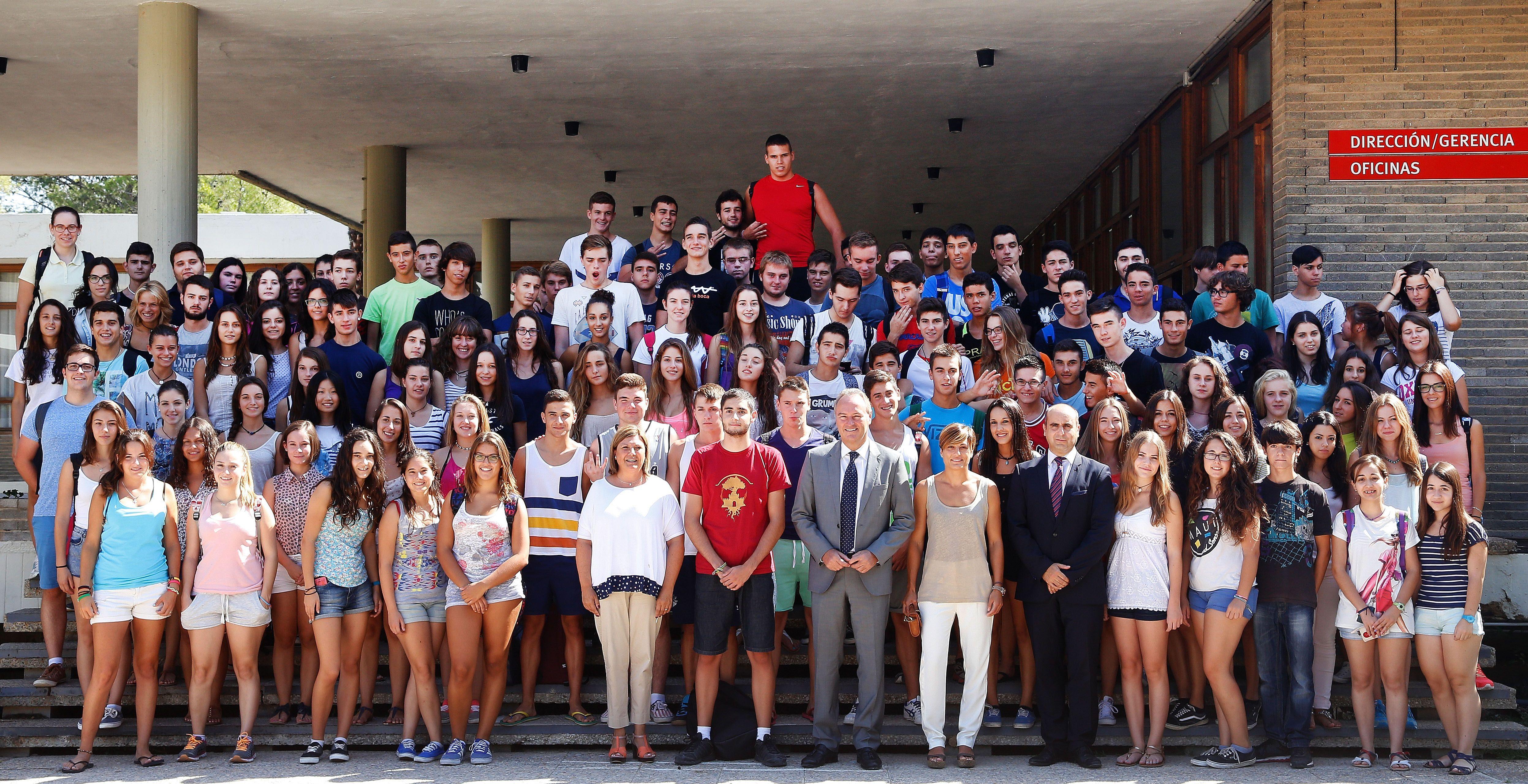 Bienvenida a los alumnos de Bachillerato de Excelencia y del Centro de Tecnificación Deportiva de Cheste