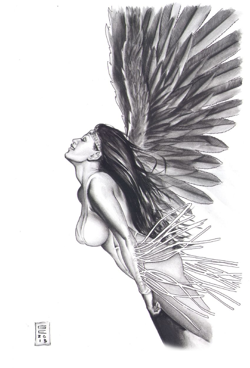 Dawnstar Learning to Fly Comic Art   Legion of Super Heroes ...