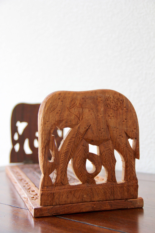teak tray teak elephant elephant tray vintage elephant